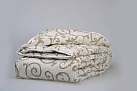Одеяло из новозеландской овечьей шерсти «Вензели» (зима) 140*205см
