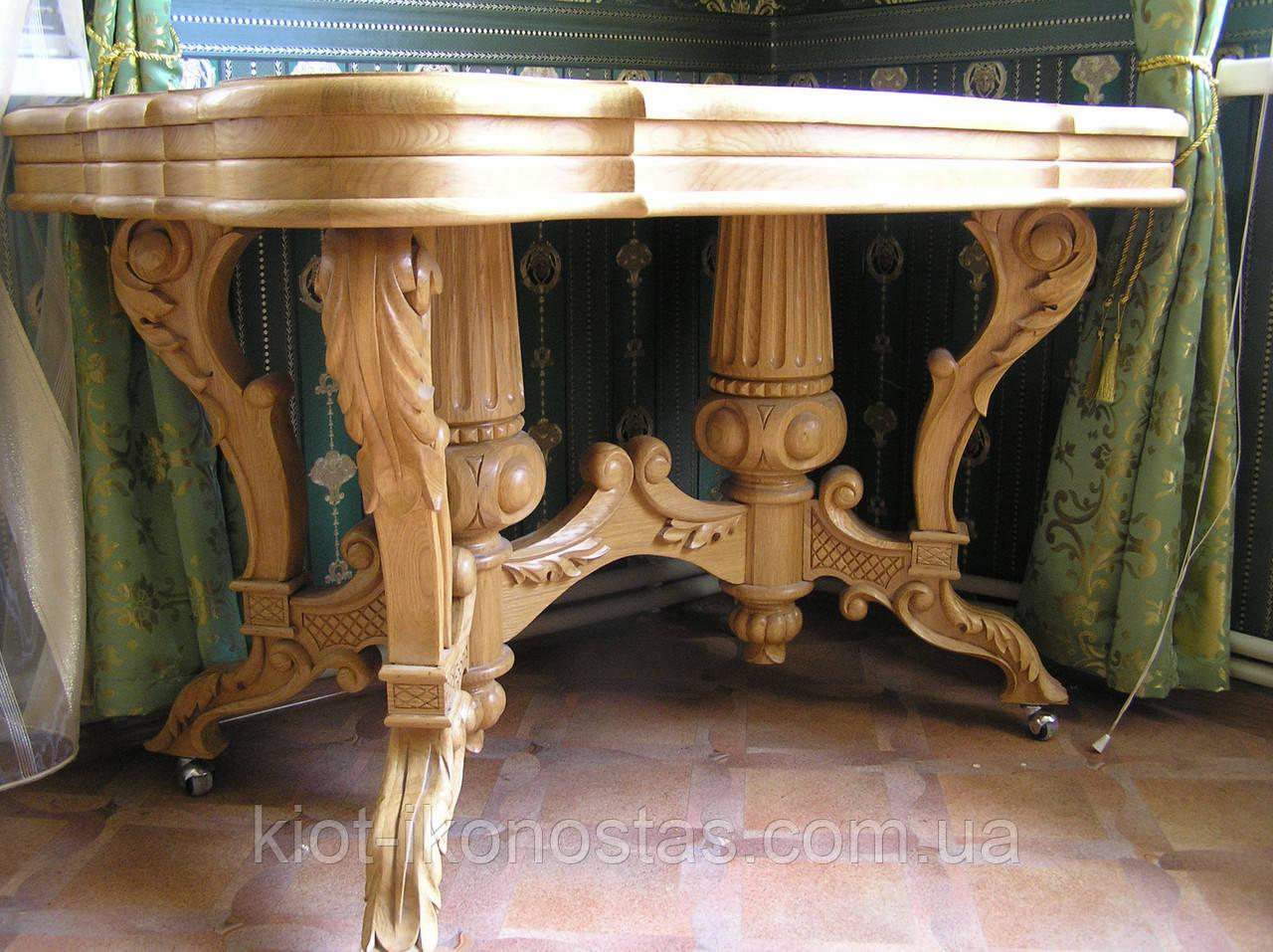 Столы,Камины из массива дерева Ольха