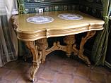 Столы,Камины из массива дерева Ольха, фото 2