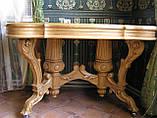 Столы,Камины из массива дерева Ольха, фото 3