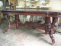 Столы резные  из массива дерева Ольха, фото 1