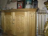Тумба Алтарная для служебных книг из Ольхи, фото 2