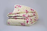 """Одеяло из новозеландской овечьей шерсти """"София"""" розовое (зима) 140*205см"""