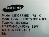 Платы от  LCD TV Samsung LE32R73BDX/XEU