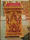 Аналой Храмовый малый,резной, фото 2