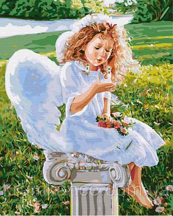 "Картина по номерам ""Маленький ангел"" GX31186, фото 2"