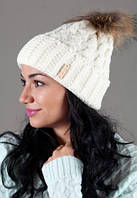 Женская вязанная шапка OdysseyMarsel-Milk 7722
