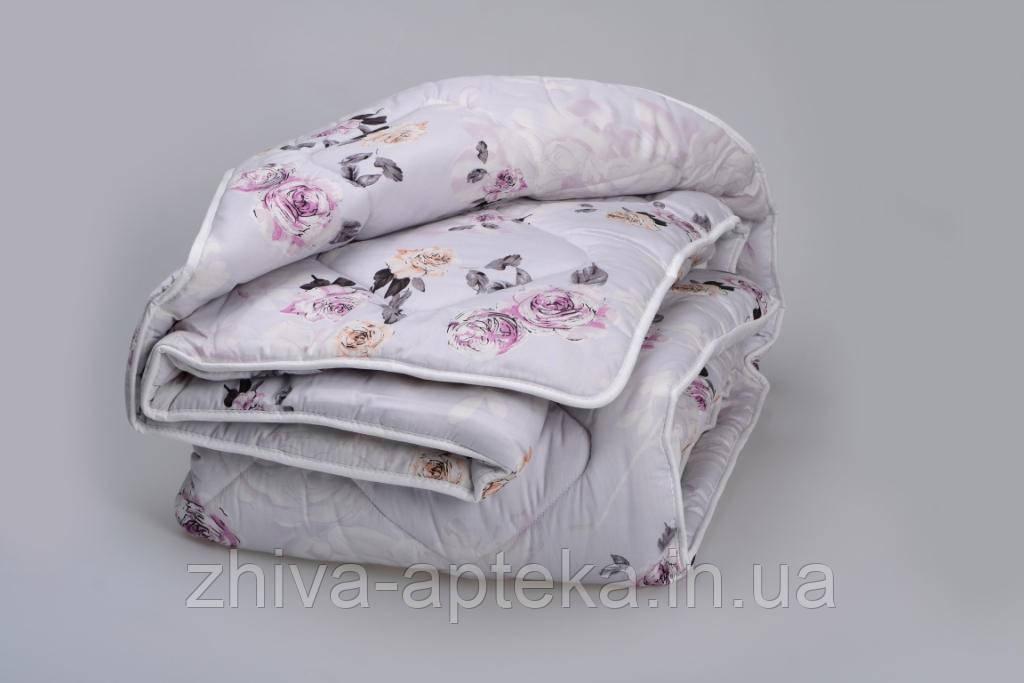 """Одеяло из новозеландской овечьей шерсти """"Букет"""" (зима) 200*220см"""