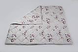 """Одеяло из новозеландской овечьей шерсти """"Букет"""" (зима) 200*220см, фото 3"""