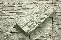 Декоративная гипсовая плитка 'Скала 000' белый 0.8 м.кв./уп.