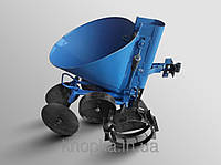 "Картофелесажалка ТМ ""ШИП"" (синяя, на ленте, 20 л, с транспортировочными колесами)"