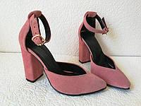 Mante! Красивые женские замшевые и кожаные босоножки туфли каблук 10 см весна лето осень, фото 1