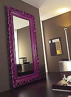 Напольное зеркало в деревянной раме №18