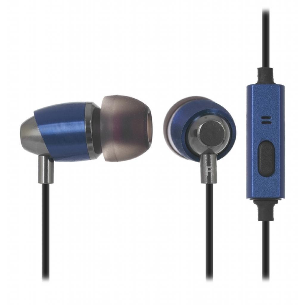 Навушники з мікрофоном Ergo ES-700i Red