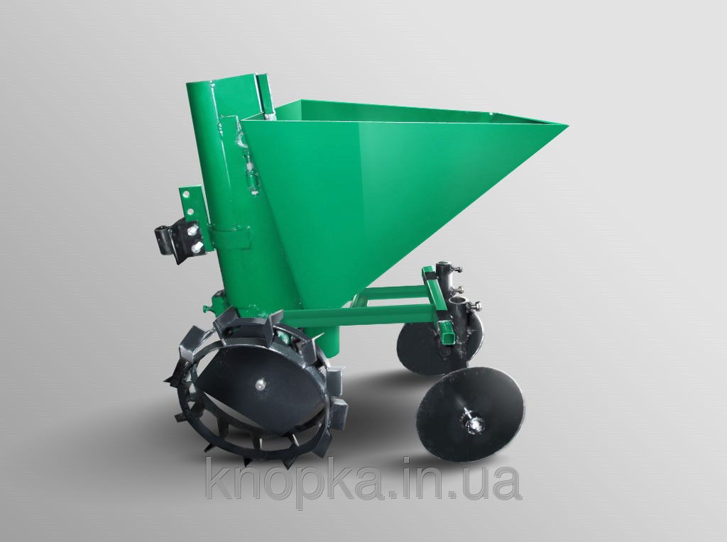 """Картоплесаджалка ТМ """"АРА"""" (зелена, ланцюгова,20 л, без бункера для добрив"""