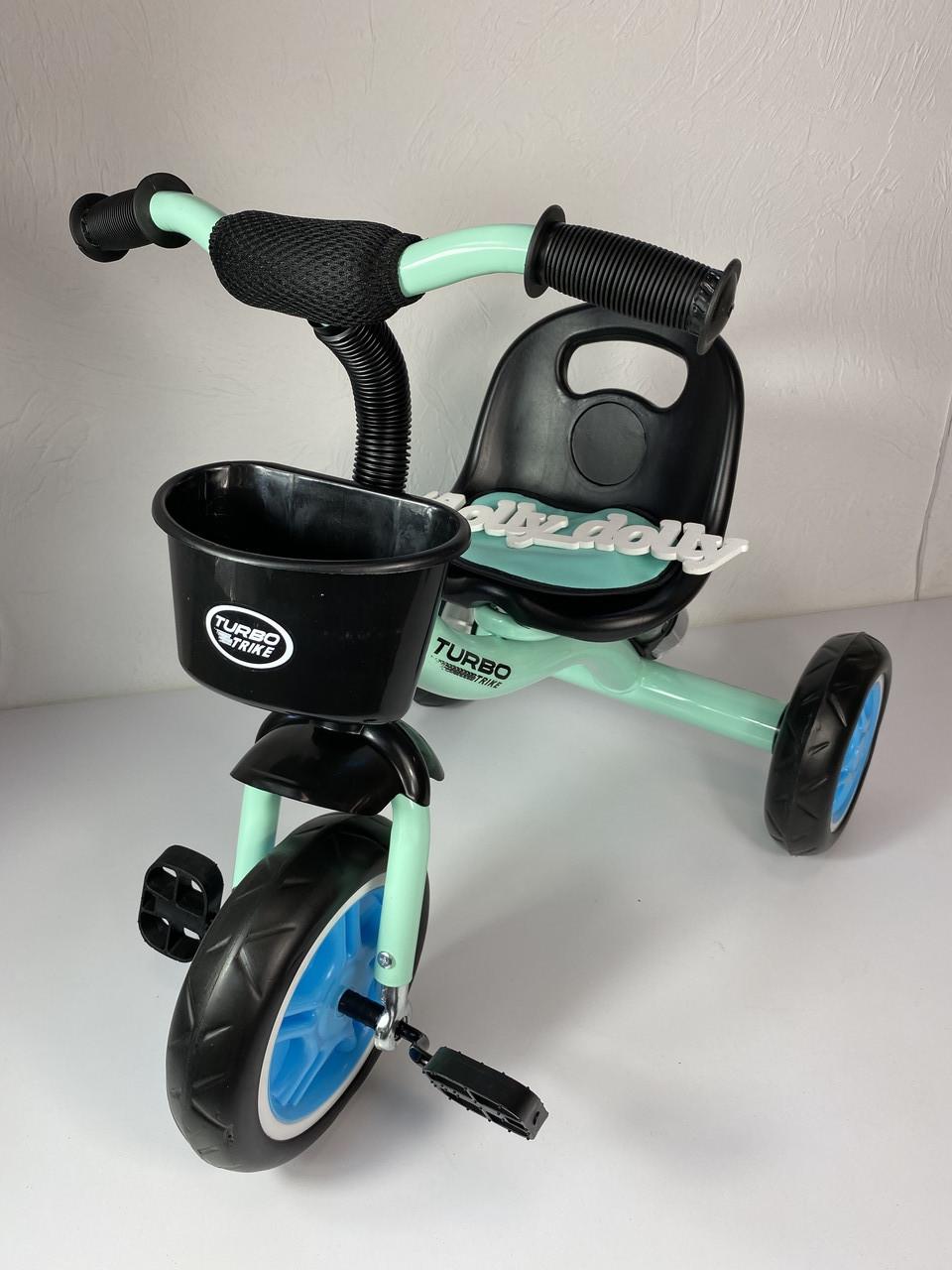 Трехколесный велосипед Turbotrike M 3197, голубой