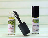 Масло листьев усьмы Природный стимулятор роста ресниц, бровей и волос (Пробник)