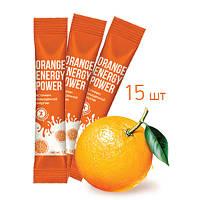 Orange energy power (15 шт.)  Вкус сочного апельсина, заряд энергии на целый день!