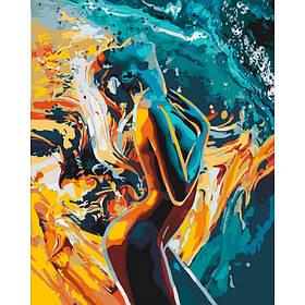 """Набір для малювання за номерами Люди """"Пристрасть жінки"""", 40*50см, KHO4528"""