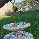 Триярусна фруктовниця/цукерниця Риштан, фото 6