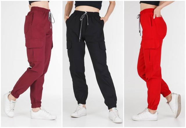 купить женские брюки карго
