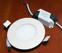 Светильник светодиодный Biom PL-R3 WW 3Вт круглый  теплый белый, фото 1