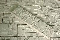 """Декоративный гипсовый камень """"Египет 000""""0,58м.кв белый, фото 1"""