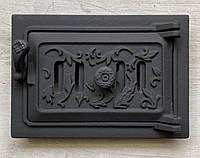"""Дверца зольная для печи и барбекю 165*245мм """"двухсторонняя"""", с регулировкой подачи воздуха, фото 1"""