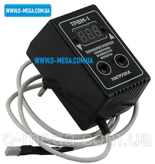 Терморегулятор цифровой + влагомер ТРВМ-1