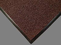 Ковер грязезащитный петлевой Moss коричневый С резиновым кантом, 40х60см.