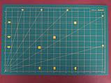 Коврик макетный самовосстанавливающийся для резки  А1 90 х 60 см* 3 мм ДВУХСТОРОННИЙ, фото 2