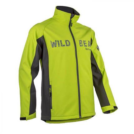 Куртка COVERGUARD PIMAN SOFTSHELL водонепроницаемая лайм L, фото 2