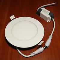 Светильник светодиодный Biom PL-R6 W 6Вт круглый белый
