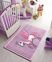 Ковер в детскую комнату Confetti - Pony лиловый 100х150