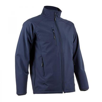 Куртка COVERGUARD SOBA SOFTSHELL водонепроницаемая темно-синяя L, фото 2