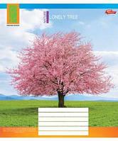"""Тетрадь 48 листов / 3118 """"Одинокое дерево"""" (клетка)"""