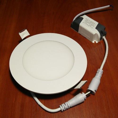 Светильник светодиодный Biom PL-R6 WW 6Вт круглый теплый белый