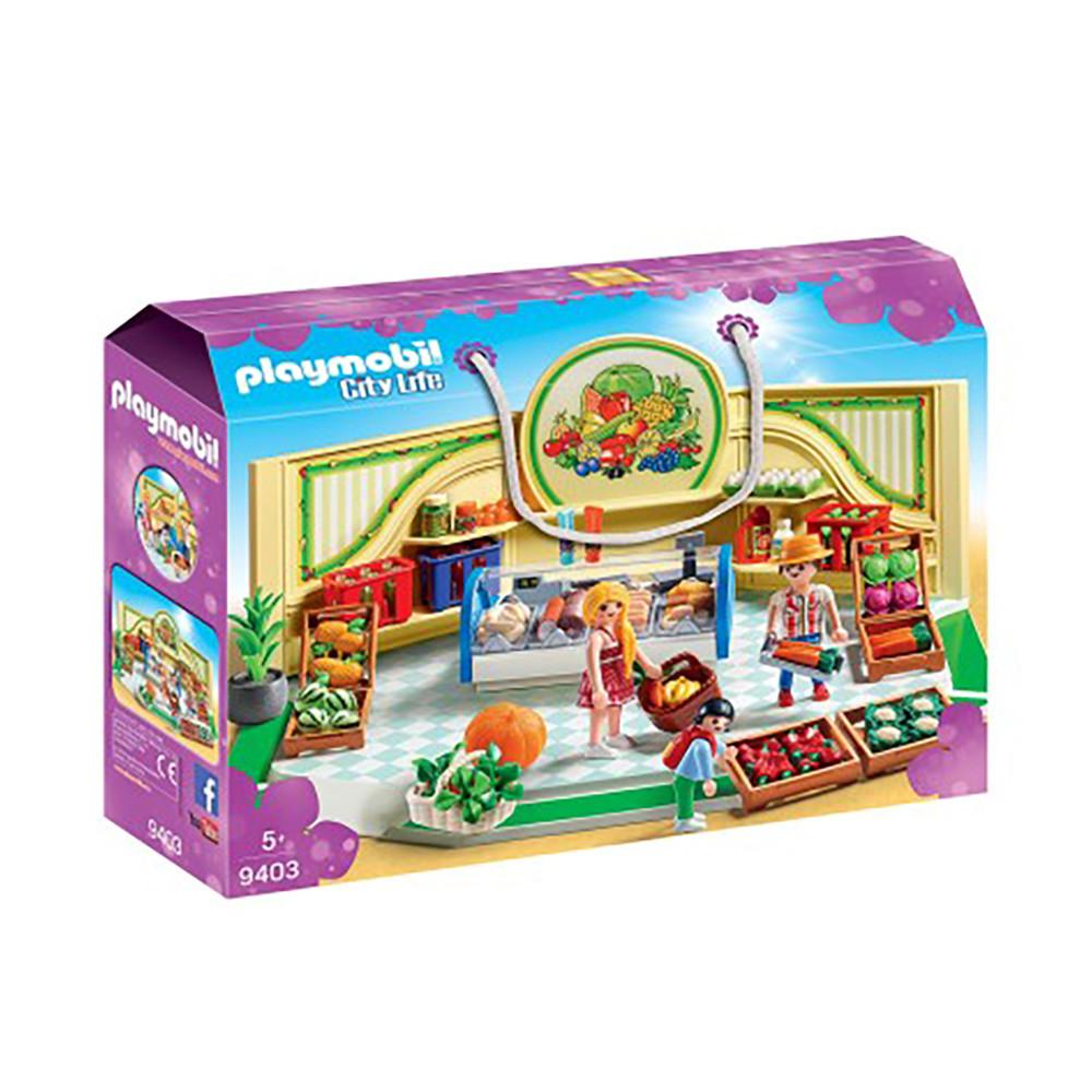 """Ігровий набір """"Продуктовий магазин"""" Playmobil (4008789094032)"""