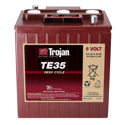 Акумуляторна батарея Trojan TE35, фото 2