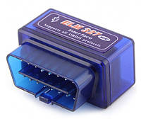 Сканер для авто, сканер для диагностики автомобиля OBD2 ELM327 mini BT. Версия 1.5 (1 плата), фото 1