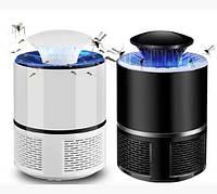 Лампа ловушка для комаров уничтожитель насекомых 5 Вт USB Mosquito Killer Lamp черная