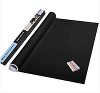 Самоклеющаяся пленка для рисования мелом Black Board Sticker, доска для рисования мольберт для рисования мелом, фото 1
