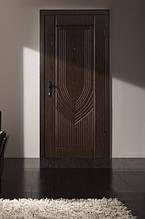 Двери входные коллекция Сити орех морёный Турин