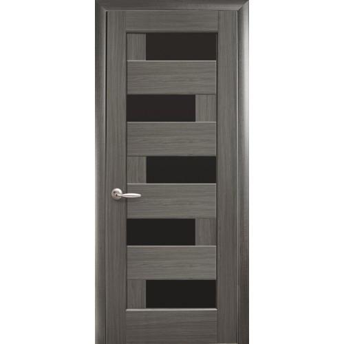 Двери межкомнатные Пиана грей BLK