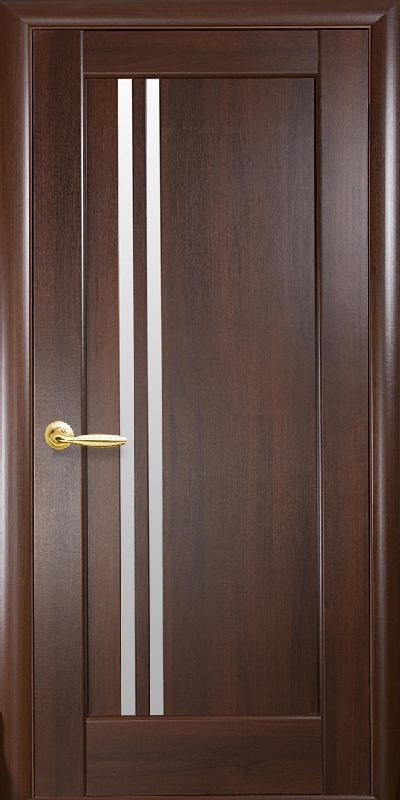 Двери межкомнатные ПВХ Делла каштан