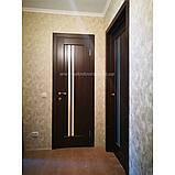 Двери межкомнатные ПВХ Делла каштан, фото 2