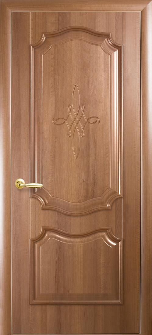 Двери межкомнатные Рока золотая ольха