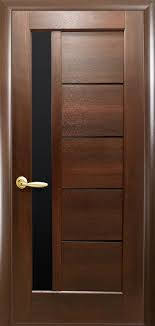 Межкомнатные двери Грета каштан (BLK)