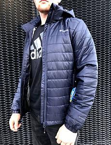 Ветровка мужская Columbia Dark Blue
