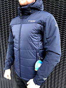 Куртка мужская Columbia Titanium темно-синяя
